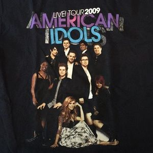Other - 2009 American Idol Live Tour Tee